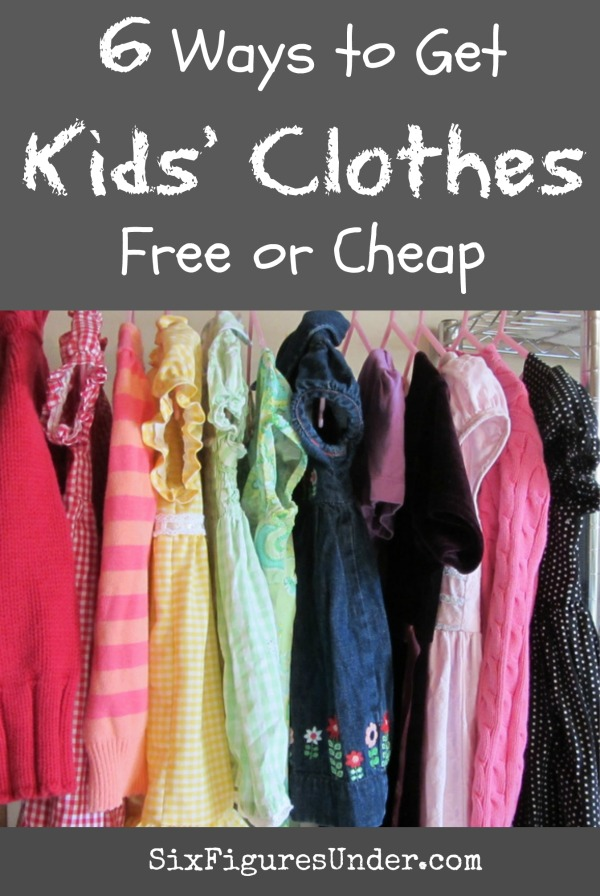 6 Ways to Get Kids' Clothes for Free or Cheap - Six Figures Under