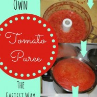 🍅The Best Way to Can Tomatoes: Tomato Puree 🍅