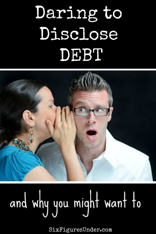 Have felt like the only one struggling with debt? Keeping debt secret seems to be hurting everyone. Are you ready to disclose your debt?