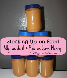 Stocking Up on Food: Why We Do It and How We Save Money