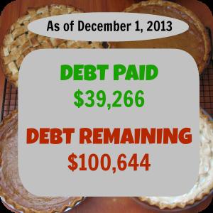 November 2013- Debt Repayment Progress Report