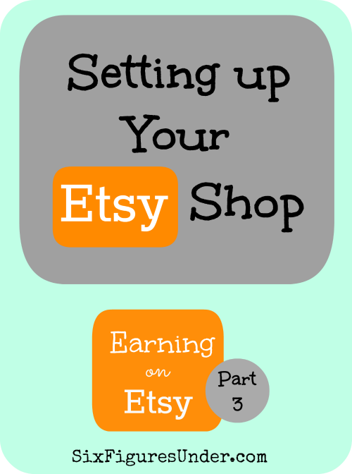 Earning on Etsy Part 3 of 5-- Learn everything you need to know set up your Etsy shop.  You can even get 40 listings free!!