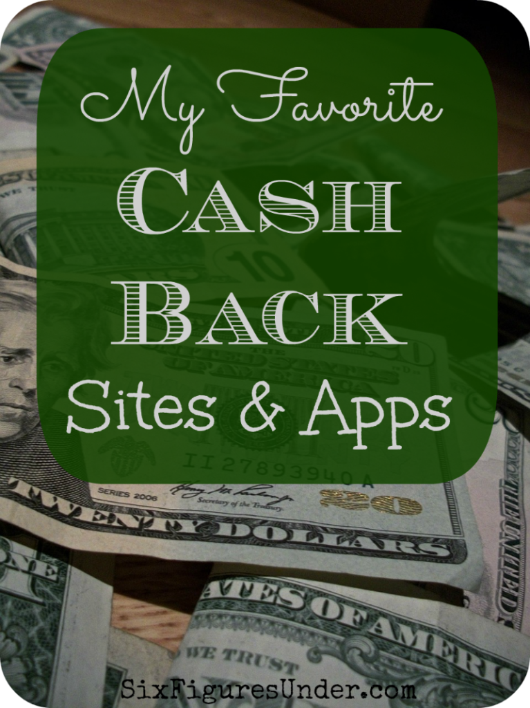 roundup of cash back sites and apps for online shopping and in