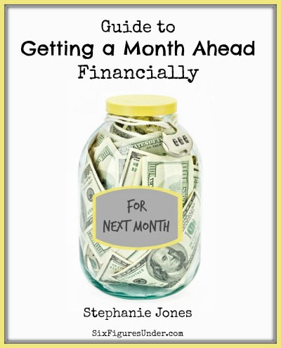 """Get the """"Guide to Getting a Month Ahead Financially"""" FREE now!"""