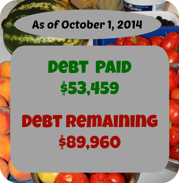 At SixFiguresUnder.com Personal Finance is made Public. Every month we update you on our debt repayment as well as what we earned and spent. Here's September's report!