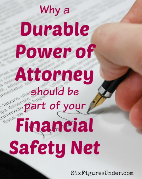 Durable Power Of Attorney Definition Financial