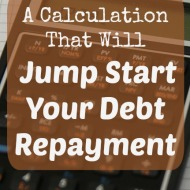 A Calculation That Will Jump Start Your Debt Repayment