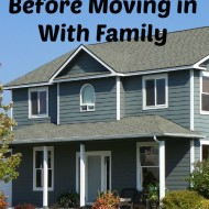 Tips for Living With Family to Save Money