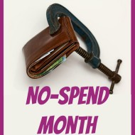 Join Me For a No-Spend Month in September!