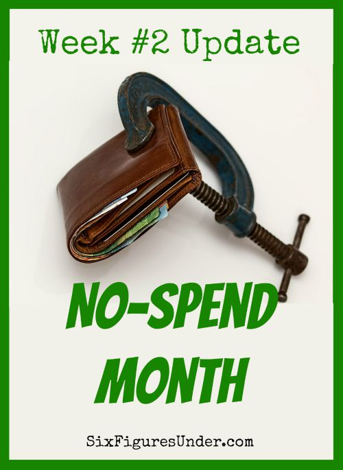 We made it through week 2 of our no-spend month. We had a couple of hangups. Here are the details, including a YNAB tip! How did you do?