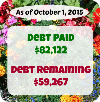 At Six Figures Under, we make our personal finances public. Here's a detailed report of our debt repayment and what we earn and spent in September.