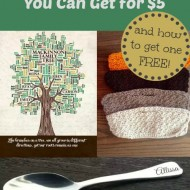 Awesome UniqueGifts You Can Get for $5 (and how to get one free)!