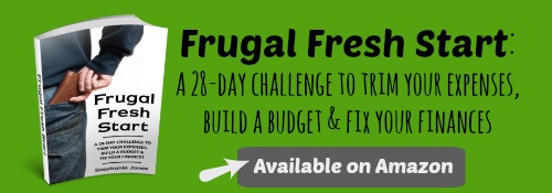 Frugal Fresh Start is available on Amazon