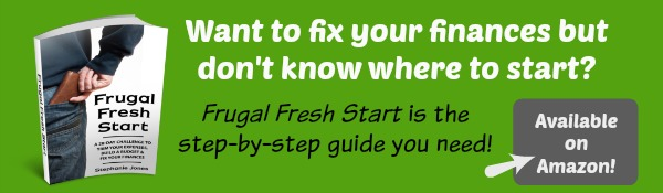 Frugal Fresh Start is the step-by-step guide you need to fix your finances