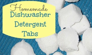 Making Homemade Dishwasher Detergent