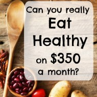 How to eat healthy on a $350 monthly grocery budget