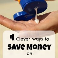 How to Save Money on Sunscreen