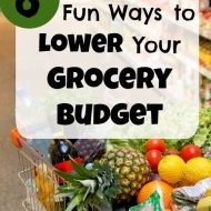 6 Fun Waysto Lower Your Grocery Budget