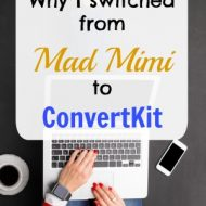 Why I switched from Mad Mimi to ConvertKit for Email Marketing