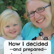 How I decided and prepared to stay home with my kids