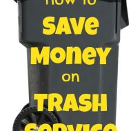 How to Save Money on Trash Service🗑️