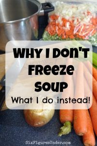 Why I don't freeze soup (and what I do instead)