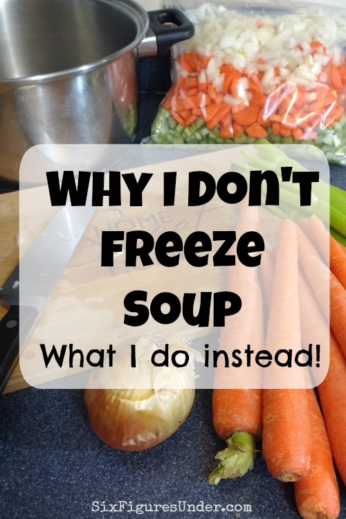 Freezing Soup   Freezer Tip   Freezer Cooking   Frugal Meals   Time Saving Money Saving