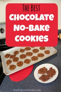 The Best Chocolate No-Bake Cookies– A fast and frugal favorite