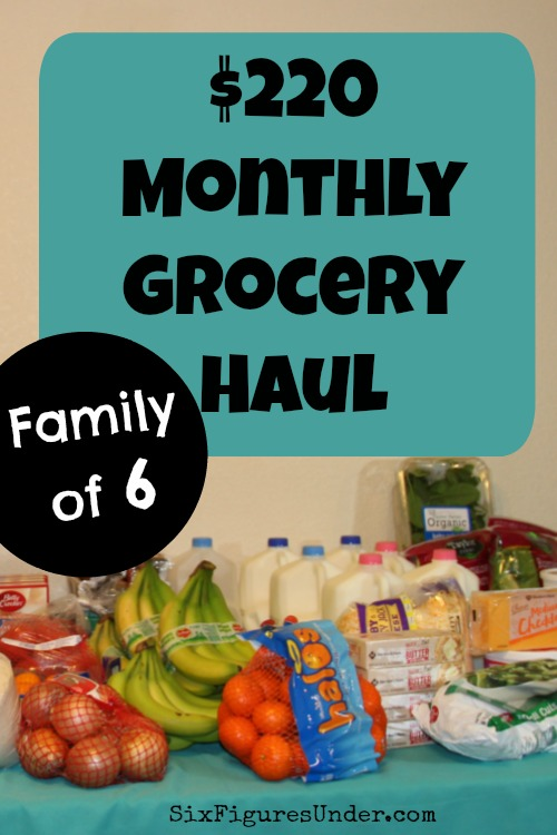 Monthly Grocery Shopping   Grocery Shopping on a Budget   Family of 5   Frugal Family   Low Grocery Budget