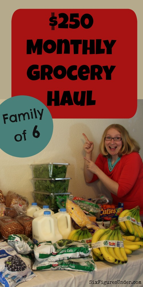 Want to see what groceries we buy on a $300-$400 monthly grocery budget? If you're trying to reduce what you spend on food, it's helpful to see what other families are buying so you can see that it's possible to buy healthy food on a budget.