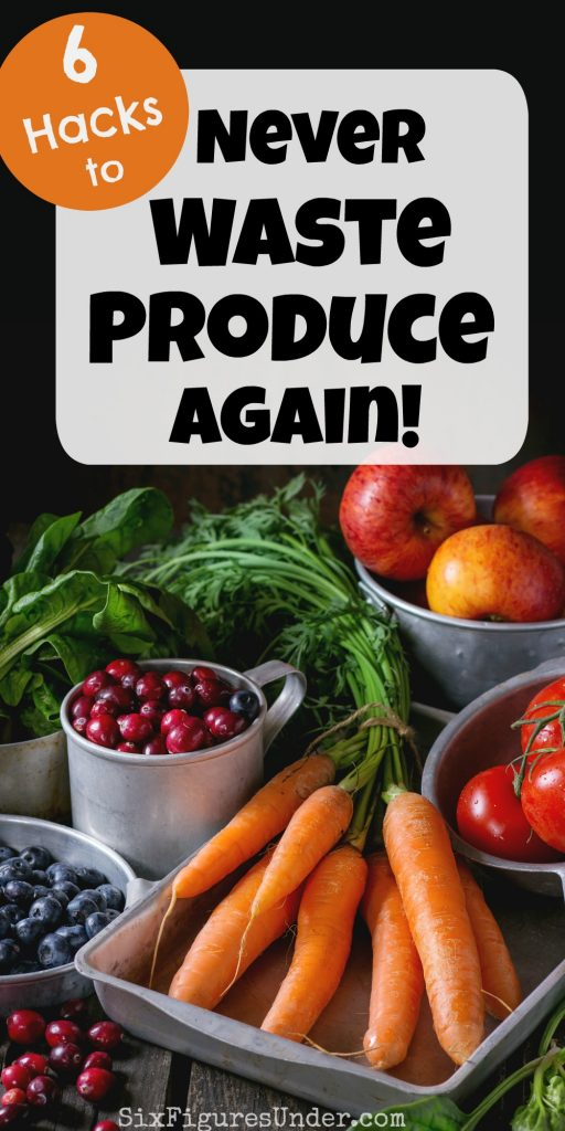 Every time I share a monthly grocery haul, I get flooded with questions about how we make our produce last and how we can eat it before it goes bad. There are several specific things I do to keep my fruits and veggies from not going to waste. I'm sharing my best tips here!