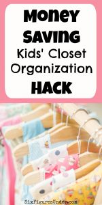 Money-Saving Kids' Closet Organization Hack