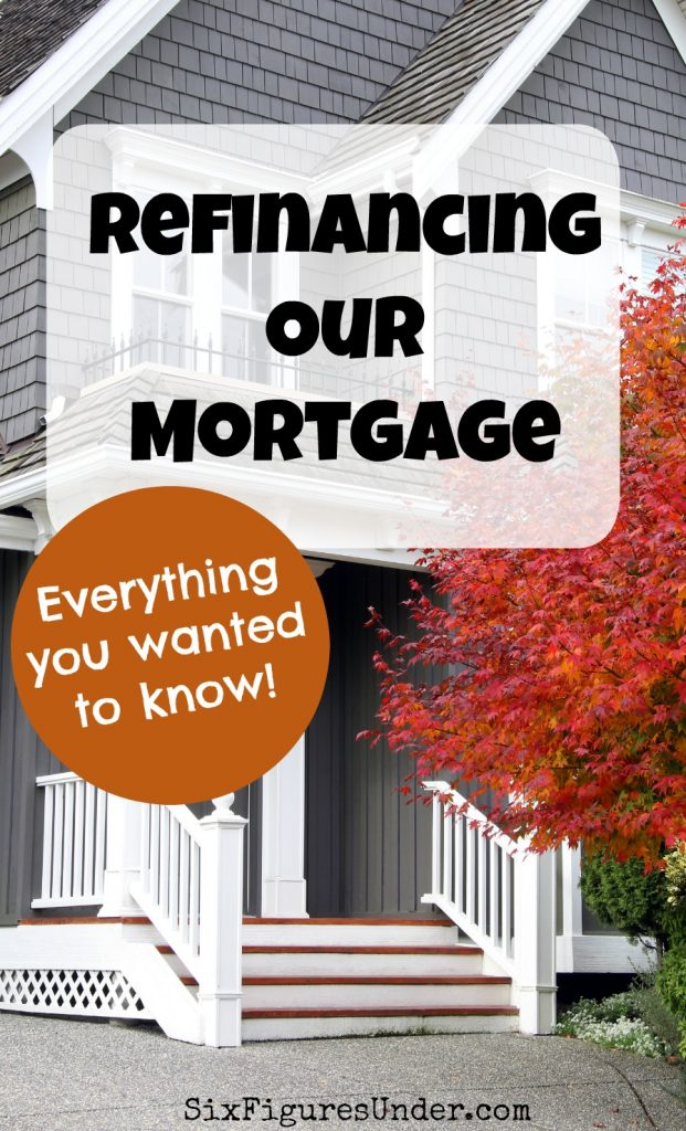 If you weren't shocked by our original mortgage payment you may be now! It's okay if you think we're nuts. We're spilling the beans, sharing all of the numbers, and answering all of your questions about the crazy decision to refinance our mortgage.
