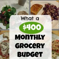 What a $400 Grocery Budget Looks Like on a Plate