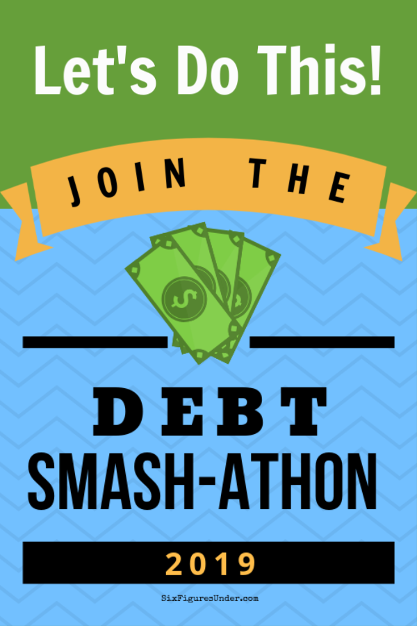 Joining the Debt Smash-athon will give you the extra oomph of motivation you need for your debt payoff journey! Knowing that you'll be reporting your progress each month will keep you accountable.  Are you ready?!