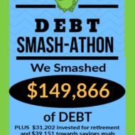Debt Smash-athon MARCH Progress Report