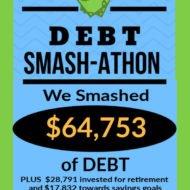 Debt Smash-athon OCTOBER Progress Report