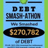 Debt Smash-athon SEPTEMBER Progress Report
