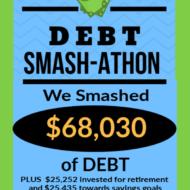 Debt Smash-athon MAY Progress Report