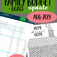 Real Family Budget Update– August 2019