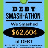 Debt Smash-athon JULY Progress Report