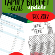 Real Family Budget Update– December 2019