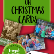How to Save Money on Christmas Cards
