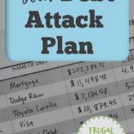 Making Your Debt Attack Plan