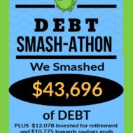 Debt Smash-athon JANUARY 2020 Progress Report