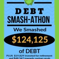Debt Smash-athon APRIL 2020 Progress Report