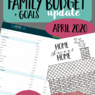 Real Family Budget Update– April 2020