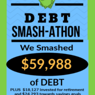 Debt Smash-athon MAY 2020 Progress Report