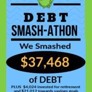 Debt Smash-athon JUNE 2020 Progress Report