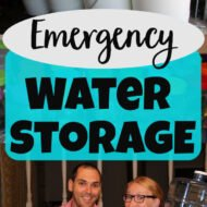 Planning Your Emergency Water Storage
